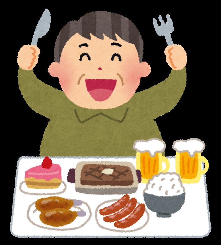 生活習慣seikatsusyukan_highcalorie